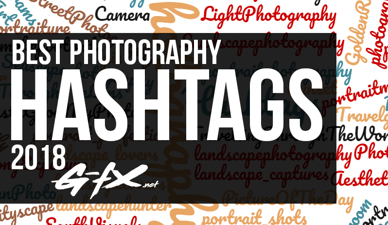 best photography hashtags in 2018